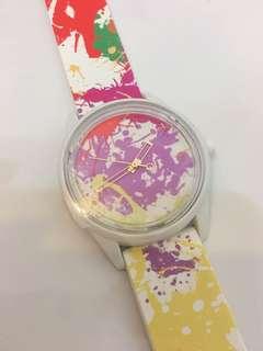 手錶&Q彩色全新未用未撕膜
