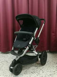QUINNY BUZZ XTRA LIMITED EDITION BLACK WHEEL like NEW!!