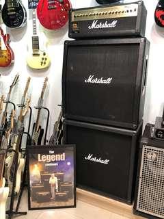 [板橋加音樂器世界]Marshall MG100HDFX 100瓦 電吉他 音箱 + 雙層 CAB 三層 音箱