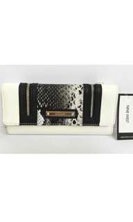 Brand New and Authentic! NINE WEST So Snake SLG Clutch Wallet