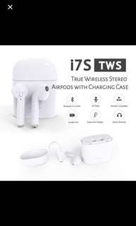 Instock : i7s Tws Wireless Bluetooth earphone Airpod with charging box