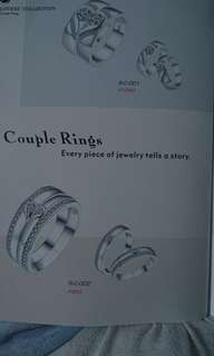 Italy 92.5 Couple's Ring
