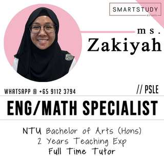 English & Math Primary Home Tuition