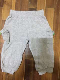 Carters baby pants baby jogger Baby pants carters bottoms baby grey pants (9 months)