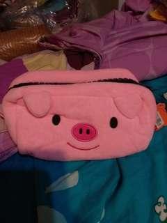 豬仔 筆袋 化妝袋