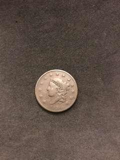 1834 USA Large Penny