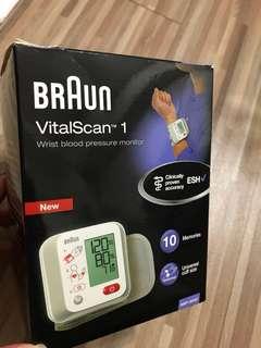 血壓計 BRAUN  VitalScan 1