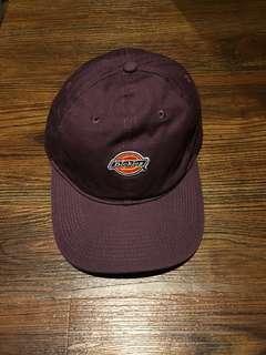 Dickies 老帽 紫色 logo 鴨舌帽