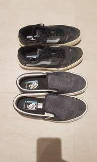 Vans Crocket Pro 2 X Quasi Limited Edition (slip-on and pro skate 2 pairs)