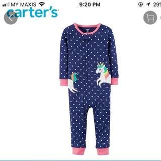 Carter's Sleepsuit / pyjamas / bodysuit