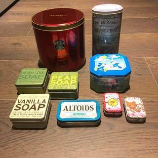 🚚 各式鐵盒/收納、收藏