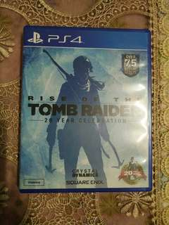 PS4 Rise Of The Tomb Raider(Used)