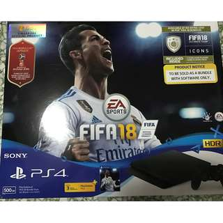 PS4 FIFA 18 Bundle Pack 500GB