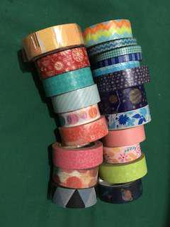 PRE-LOVED Washi Tapes