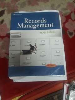 Record Management
