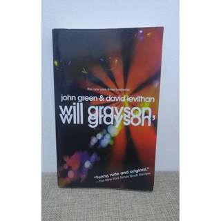 Will Grayson, Will Grayson by John Green & David Levithan in English