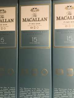 Macallan 15 Whisky clearance