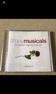 Cd Box 4 - Simply Musicals