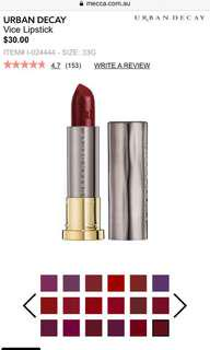 Urban decay Vice Lipstick- Rocksteady