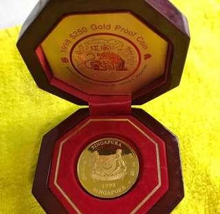 Tiger Zodiac Gold Coin (999 Gold) ❤️❤️