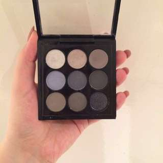 MAC eyeshadow navy times nine