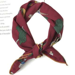 Scarves - Macaw
