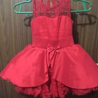 Baby fashionistas birthday gown