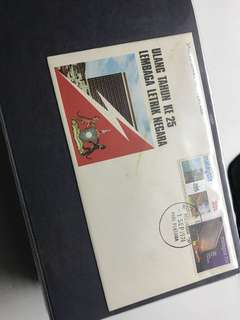 FDC First Day Cover Stamp Malaysia 1974