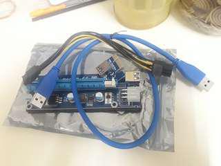 PCI E riser USB 3.0