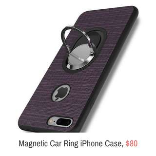 🌈Magnetic Car Ring iPhone Case