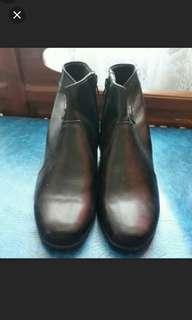 Boots Kulit Asli #maudecay
