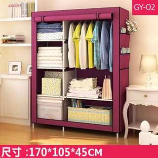 Roll up wardrobes Red wine
