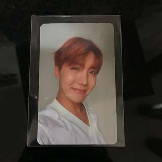 BTS LOVE YOURSELF HER JHOPE PHOTOCARD