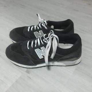 new balance 496 black