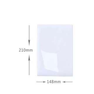 A5 21cm×14.8cm Flexible Fridge Magnets Whiteboard Waterproof