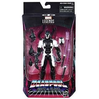 MISB GameStop Exclusive Marvel Legends Deadpool Back In Black (Venompool Venom X-Force X-Men Select)