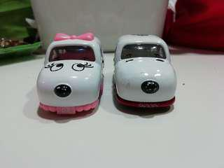 Lot Tomica Snoopy & Belle