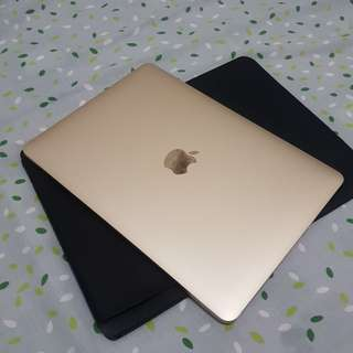 New macbook 12 inch retina gold 256 gb ram 8