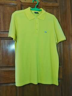 Lemon Yellow Polo