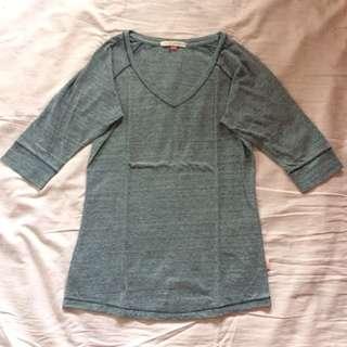 Crissa 3/4 Gray Sleeves
