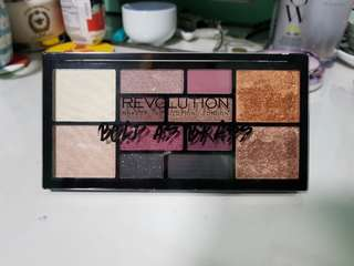 Makeup Revolution Bold as Brass Eyes and Face Palette GWP!
