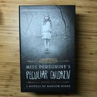 Miss Peregrine's Home For Peculiar Children Boxed Set