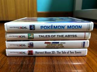 Selling Cheap 3DS Games!