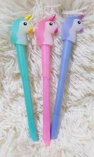 unicorn ball pen with lights