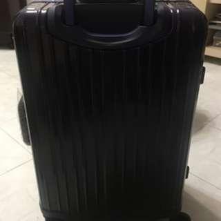 鋁框旅行喼行李箱20吋 (非拉鍊),360°旋轉轆,密碼鎖+海關鎖 20吋,可帶上機 luggage 喼