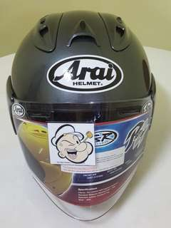 1207***TSR RAM4 Convert ARAI Helmet For Sale 😁😁Thanks To All My Buyer Support 🐇🐇 Yamaha, Honda, Suzuki