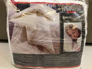 Novelle Home - White Quilt King Size