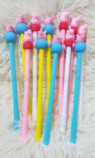 peppa pig ball pen set 12a