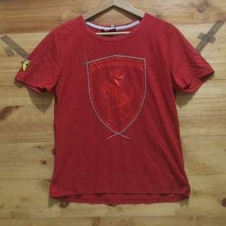 puma x Ferrari t shirt original