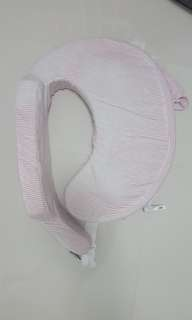 My Brest Friend Nursing Pillow - Pink and White Stripe